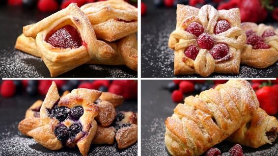 pastry 4 ways